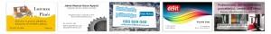 Imprenta digital rapida en Valencia de tarjetas de visita