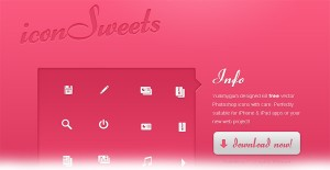 Icon Sweet, iconos de alta calidad web en PSD