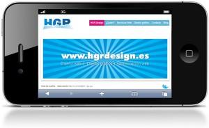 Diseño web movil con HGR Design iphone, ipad, android, windows phone