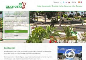 Diseño web apartamentos en Lanzarote