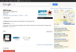 Insertar tu negocio en google places, mapas de google
