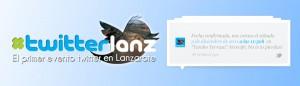 Primer twitterlanz, evento twitter en Lanzarote