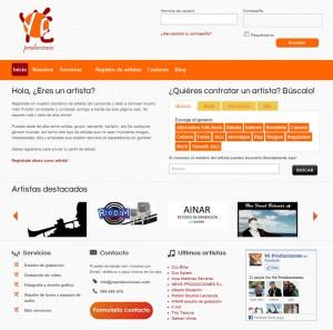 Contratación de artistas en Lanzarote, Yé Producciones