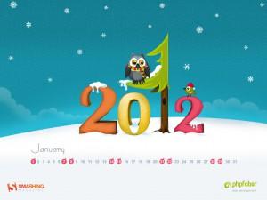 plantillas calendarios 2012
