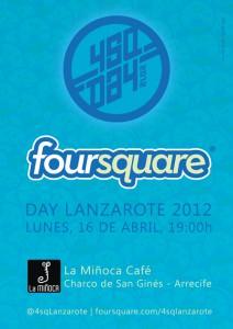 Foursquare Day Lanzarote 2012 - 4sqday 2012