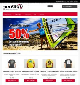 Tienda online surf Canarias Lanzarote La Santa