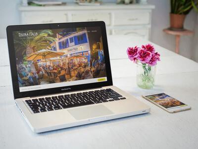 Diseño Pagina Web Restaurante en Lanzarote
