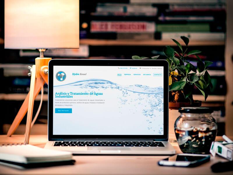 Diseño Web Empresas Agua Analisis