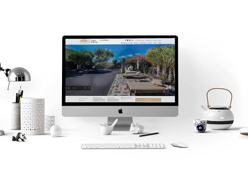 Diseño Web Hoteles Casas Rurales